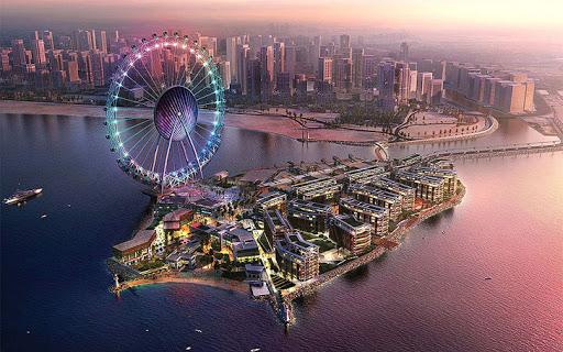 "Dubai Eye ""The World's Largest  & Highest Ferris Wheel"""